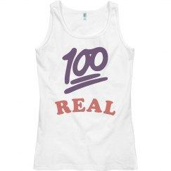 100% Real Vest Tee