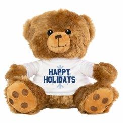 Wishing You Happy Holidays Bear