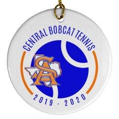 SA TX logo ornament
