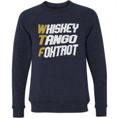 WHISKEY TANGO FOXTROT PILOT'S SWEATER