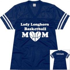 Basketball Mom Jersey: Mascot