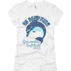 Go Dolphins Softball 1983
