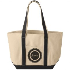 Jamie Black Circle Bag