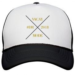 VACA GLD/BLK HAT