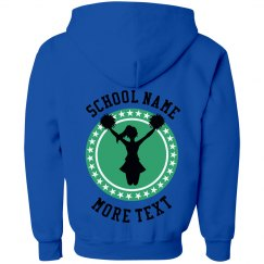 Youth Custom Team Cheerleader Hoodie