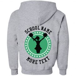 Youth Cheerleading Design Hoodie