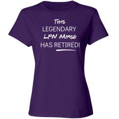 This legendary Licensed Practical Nurse LPN has retired