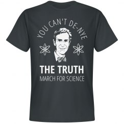 Can't De-Nye The March For Science