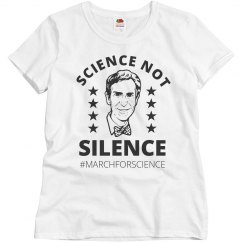 March For Science Not Silence Nye