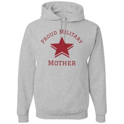 Proud Military Mother Hoodie