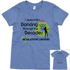 Dancing Through The Decades Kids T-shirt