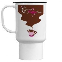 Coffee-time Travel Mug
