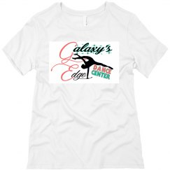 Adult White Relax Fit Tee