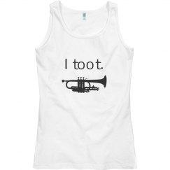 I Toot Band Tank