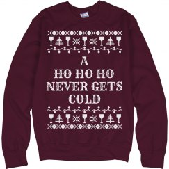 Ho Ho Funny Ugly Christmas Sweater