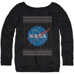NASA Logo Science Christmas Sweater