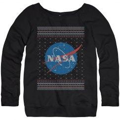 NASA Logo Science Christmas Sweater
