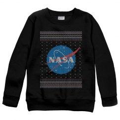 NASA Kids Science Christmas Sweater