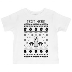 Toddler Custom Text Space Tee