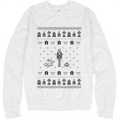 Jack Nightmare Christmas Sweater