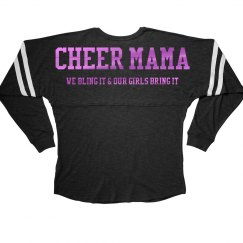 Metallic Cheer Mama