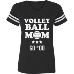 VBall Mom Jersey Number