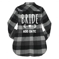 Official Custom Bride Flannel