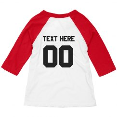 Custom Sport Toddler Raglan