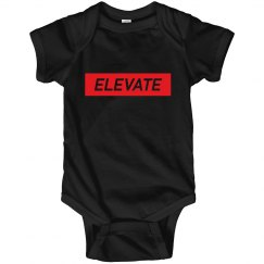 Elevate Onesie- Black