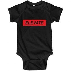 Elevate Onesie- Black