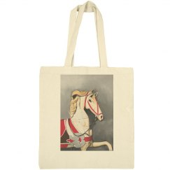 Horse in red (tote)