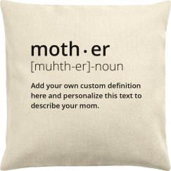Custom Mother Dictionary Definition Gift