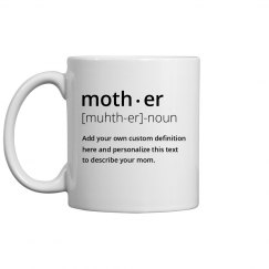 Personalized Mother Dictionary Definition