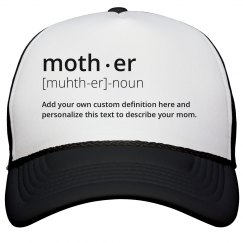 Mother Dictionary Personalized Definition