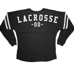 Custom Lacrosse Girl With Number