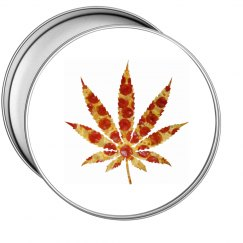 Pizza Weed Tin Case
