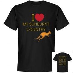 I Love My Sunburnt Country