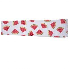 Watermelon Print Sports Sleeve