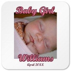 Baby Girl Magnet