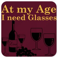 At my age, I need glasses