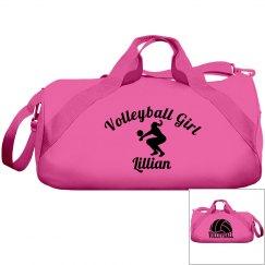 Lillian, volleyball girl