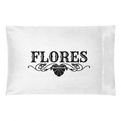 FLORES.Pillow case