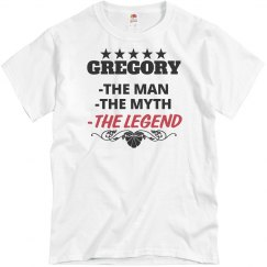 Gregory - the Man!