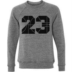 Cute Custom Numbers Basketball Girlfriend Sweater