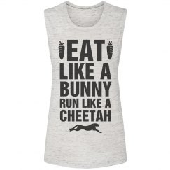 Eat Like A Bunny Workout Tank