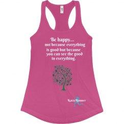 Be Happy Runner Tank