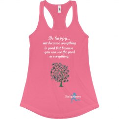 Be Happy Runner Tank