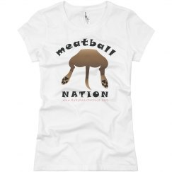 Meatball Nation (Women's Slim Fit)