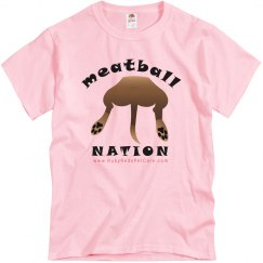 Meatball Nation (Unisex Tshirt)