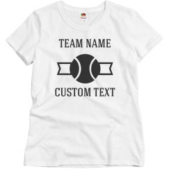 Custom Team Tennis Tees